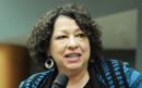 Sonia Sotomayor visits Seton Hall Law 4/10/14