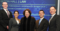Gressman Moot Court finalists with Justice Sotomayor
