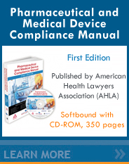 Pharmaceutical and Medical Device Compliance Manual