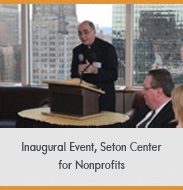 Seton Hall for Nonprofits Event