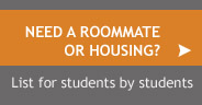 Find a roommate or housing