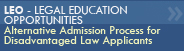 Legal Education Opportunities (LEO)