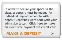 The Seat Deposit payment system will go live on February 15, 2010. Thank you for your patience.