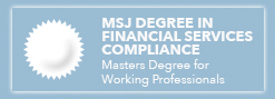 MSJ Degree in Financial Services Compliance
