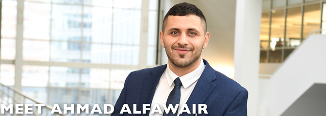 Meet Ahmad Alfawair, student at Seton Hall Law