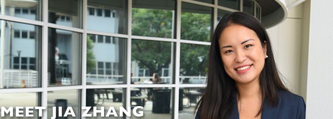 Meet Jia Zhang, student at Seton Hall Law