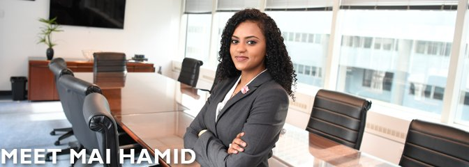 Meet Mai Hamid, student at Seton Hall Law
