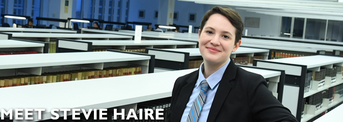 Meet Stevie Haire, student at Seton Hall Law