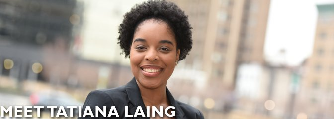 Meet Tatiana Laing, student at Seton Hall Law