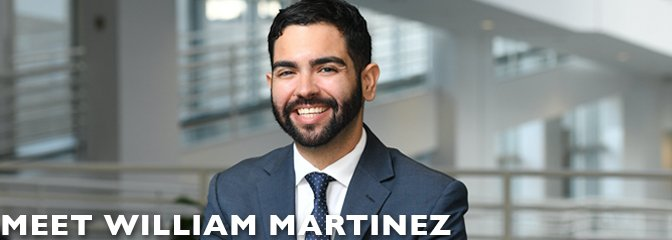 Meet William Martinez, student at Seton Hall Law