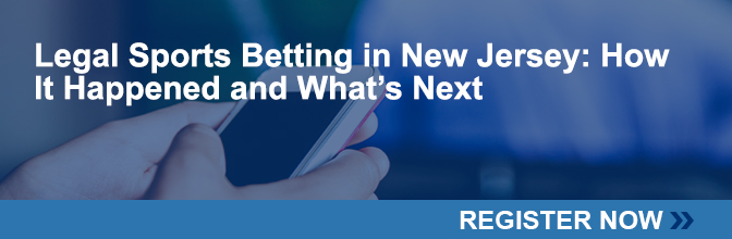 RSVP to attend the  Legal Sports Betting in New Jersey How It Happened and What's Next