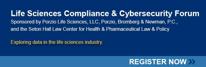 RSVP to attend the Life Sciences Compliance Forum