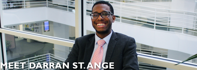 Meet Darran St. Ange, student at Seton Hall Law