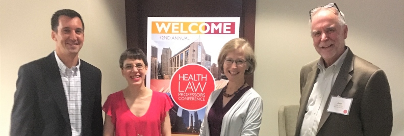 Seton Hall Law Health Professors at the ASLME Conference