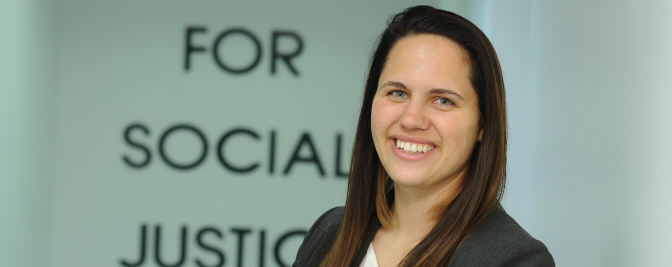 Meet Arrianna Diamantis '19: Center for Social Justice Scholar