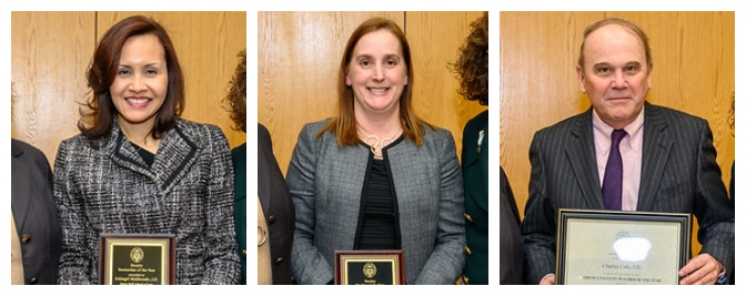 Three Seton Hall Law Professors Awarded for their Excellence