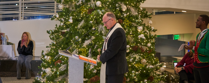Father Nick's Holiday Message to the Seton Hall Law Family