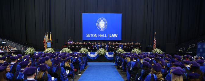 Seton Hall Law Ranked #15 for Highest Percentage of Job Placement