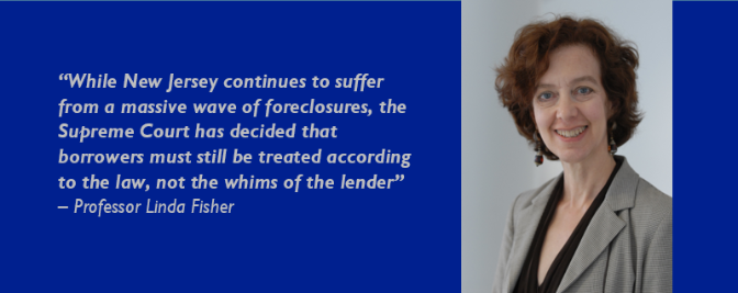 Professor and Alumnus Provide Help to Homeowner in Mortgage/Foreclosure Case