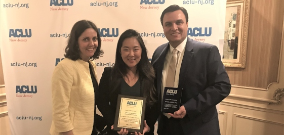 Seton Hall Law Center for Social Justice Honored By ACLU