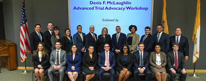 McLaughlin Advanced Trial Advocacy Workshop Welcomes Inaugural Class
