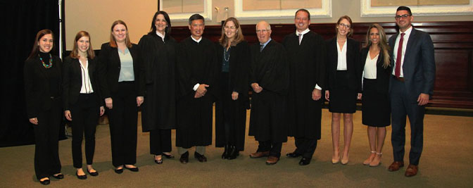 Seton Hall Law Wins Regional Moot Court Competition