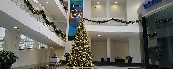 Christmas Message to the Seton Hall Law Family 2019