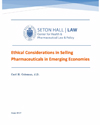 Ethical Considerations in Selling Pharmaceuticals Emerging Economies