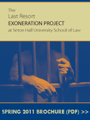 Click to read the Exoneration Project Brochure