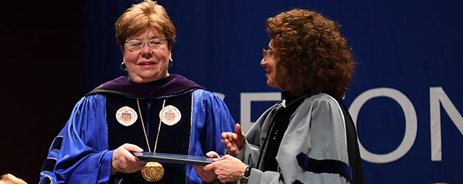 Mary J. Meehan, Honorary Degree Recipient
