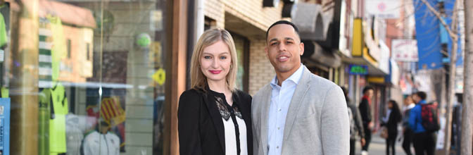 Law students take advantage of living in Newark's Ironbound section.