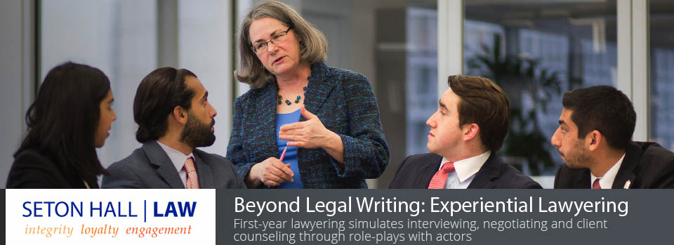 Legal writing class enables 1L students to acquire comprehensive lawyering skills in their first year
