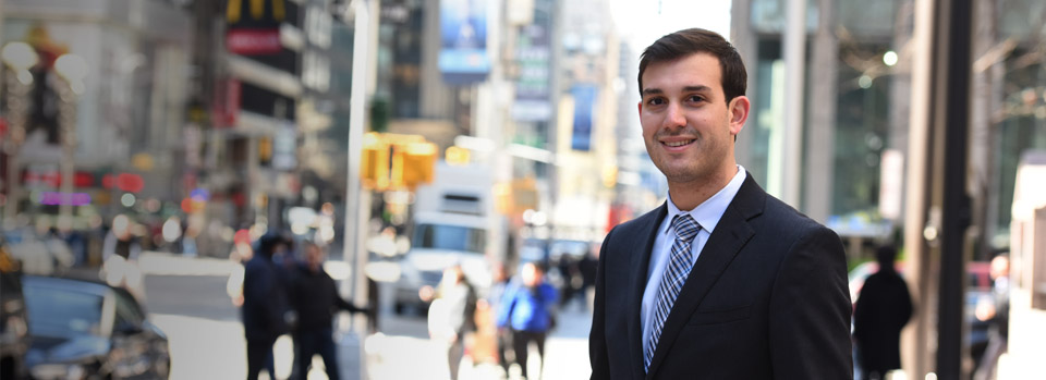Sports and Entertainment Externship Program: Andrew Richman '16 divides his week between his classes and his passion – a legal externship in one of the world's top sports agencies.