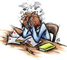 Stressed? Then check out the final exam books!