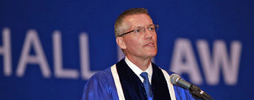Dean Patrick E. Hobbs Delivers Commencement Address