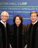 Judge Julio Fuentes, Justice Sotomayor and Judge Chagares