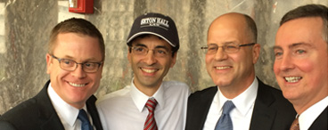 Sergey Aleynikov and Seton Hall Law Defense Team