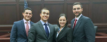 Moot Court Teams Win 1st and 2nd Place