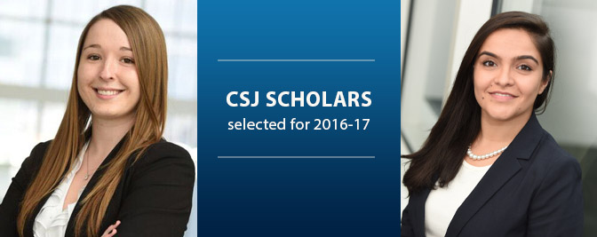 New Center for Social Justice Scholars Announced