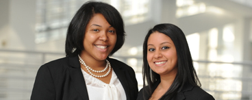 Antoinette Solomon and Sofia Iqbal CSJ Scholars