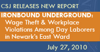 Ironbound Underground: Wage Theft & Workplace Violations Among Day Laborers in Newark's East Ward